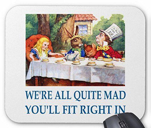 『 不思議の国のアリス 』、マッド・ティーパーティーのマウスパッド:フォトパッド(アリスシリーズ) [並行輸入品]...…