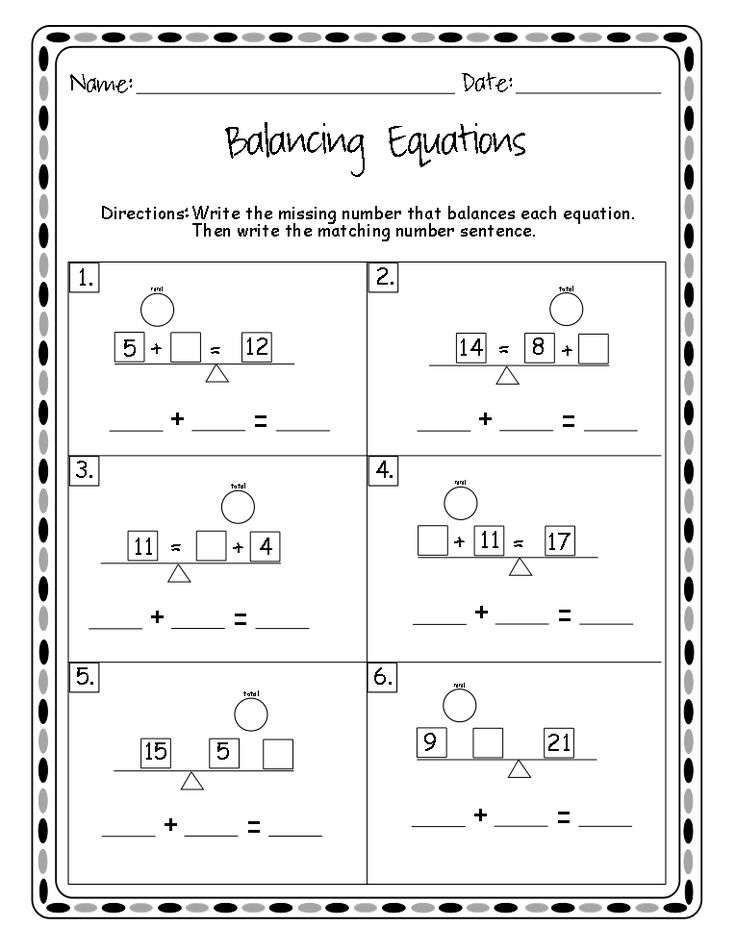 free balancing addition equations worksheet and fun video chant math pinterest equation. Black Bedroom Furniture Sets. Home Design Ideas
