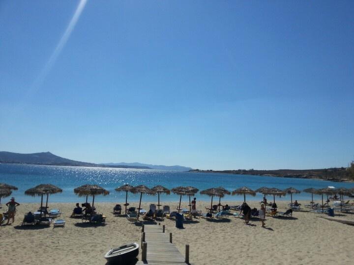 Paros beach end of September