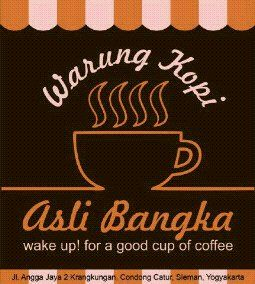 Use of logo mug signifies our focus on specialty coffee bangka business lines fart Info : 0813 9273 9157