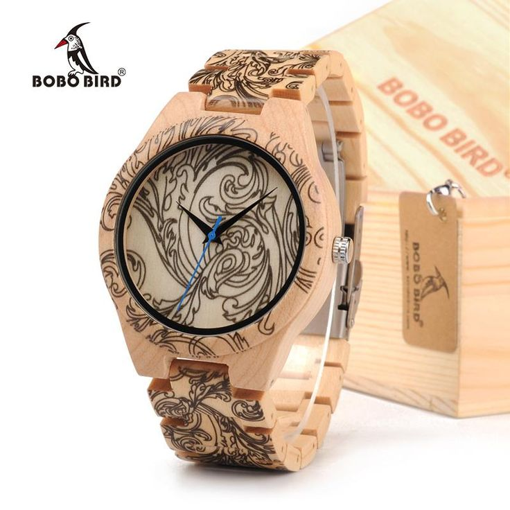 Wood watches tribal 2017 for men