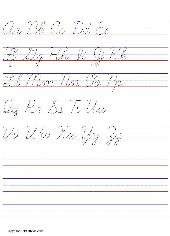 Amazing D&#39Nealian Handwriting Worksheet Maker