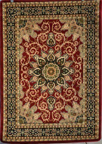 Burgundy Green Beige Black Beige 8x10 7 2x10 6 Isfahan