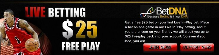 https://betdna.com/live-sports-betting If you like live sportsBetting you will justLove this new US sportsbook BetDNA where you can enjoy live sportsBetting on all major US and European sports events. All new sportsBetting customers get a $50 free sports bet. All new customers also get another free bet of $25 and this bet is specifically for live sportsBetting. With the live sportsBetting free bet you need to bet in play on a live televised sportsGame or match or your choice.