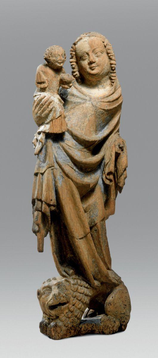 Madona na lvu, Paris, Musée du Louvre, Département des Sculptures
