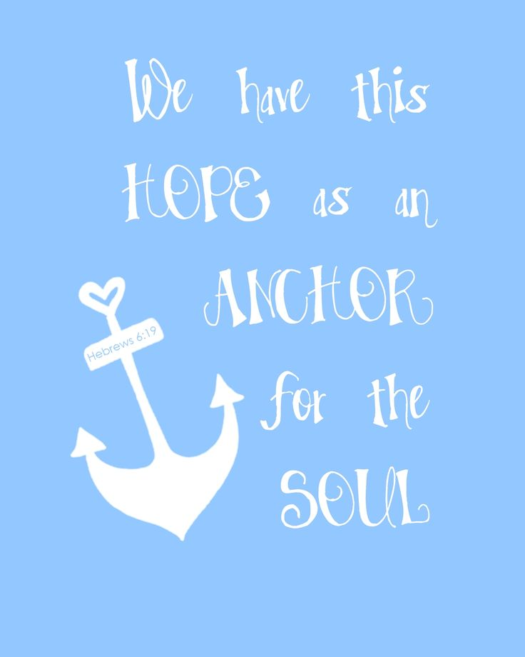 Agape Love Designs & Photography: Anchored In Love & Hope - Free Printable