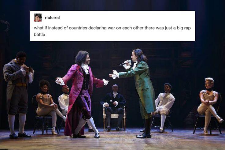 Thomas Jefferson and Alexander Hamilton - Hamilton