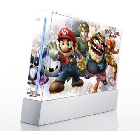 Super Smash Bros Brawl Game Skin for Nintendo Wii Console $12.99   Amazing Discounts  Your #1 Source for Video Games, Consoles & Accessories! Multicitygames.com Click On Pins For More Info