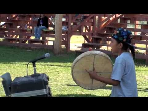 Sep 8, 2009  9 year old Aaron sings a rounddance song at alexis first nation