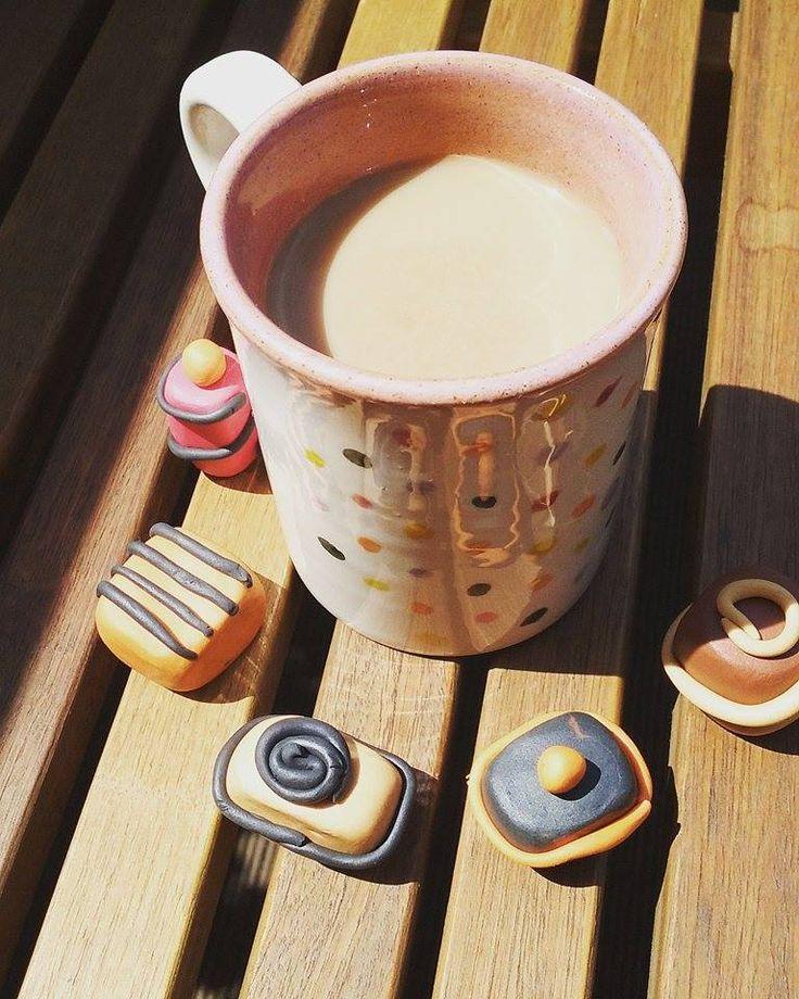 Vincém gyurmacukrászdájának termékei és a kávém