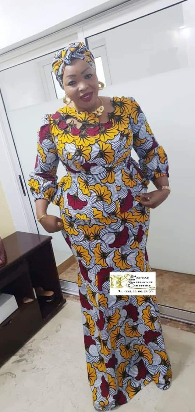 Mireille in 20   African design dresses, Latest african fashion ...