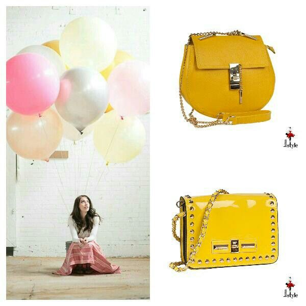 Today's about yellow bags