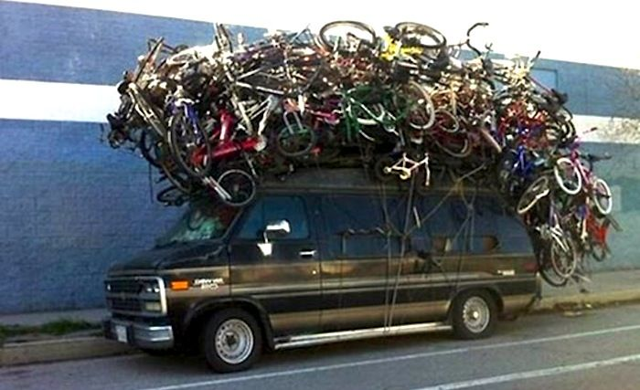 If you have a car, and ride a bike, chances are you need some roof racks! Check out this article: http://roa.rs/1bOAbrx #Cycling