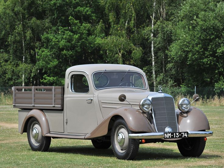1952 Mercedes-Benz 170 Da Pick Up Maintenance/restoration of old/vintage vehicles: the material for new cogs/casters/gears/pads could be cast polyamide which I (Cast polyamide) can produce. My contact: tatjana.alic@windowslive.com