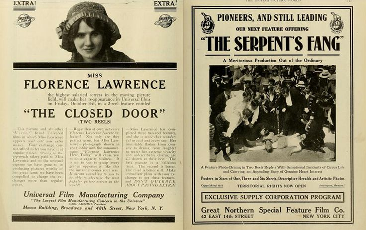 Florence Lawrence: the first movie star? | Girls Do Film