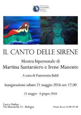 A Bologna Il canto delle sirene mostra darte bipersonale