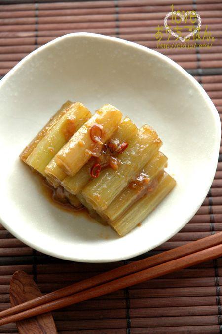 ふきの甘味噌炒め。 | 美肌レシピ