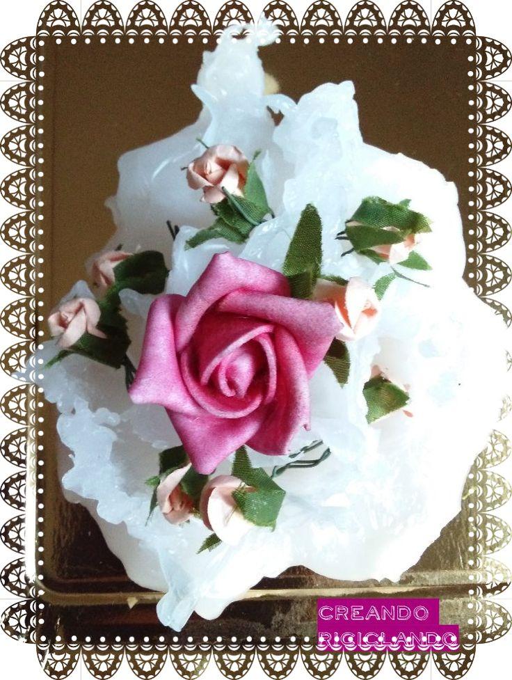 Per il tutorial di questa decorazione http://creando-riciclando.blogspot.it/search?q=torta+decorazione