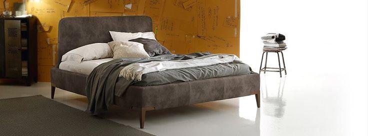 Lit MILONGA en cuir designed by DITRE ITALIA