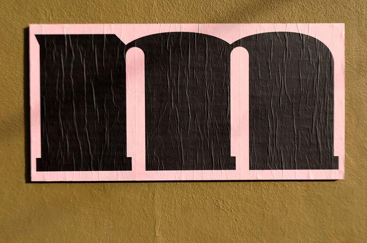 "Álvaro Franca, Ficciones Typografika 699-701 (24""x36""). Installed on November 2, 2014."