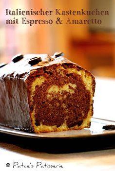 Patce's Patisserie: Italienischer Kastenkuchen mit Espresso & Amaretto...