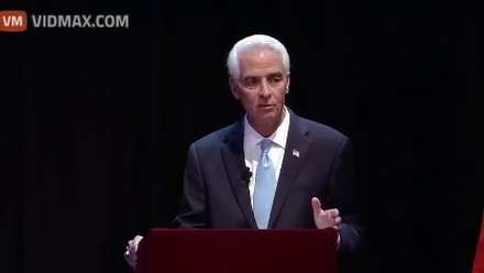 Crowd erupts in laughter after former Florida Gov. Charlie Crist claims Hillary…