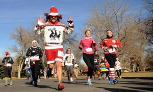 Groupon - $ 20 for The Ugly Sweater Run 5K on Sunday, December 8 (Up to $39 Value) in Bushnell Park. Groupon deal price: $0.20
