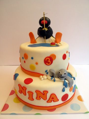 Pingu Cake- It even has the right name!