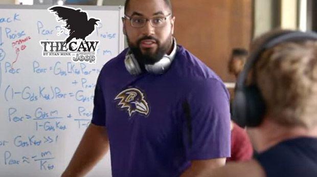 The Caw: John Urschel Gets Tuned Out By J.J. Watt In Commercial