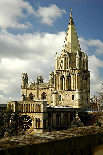 Cathedral Church of Christ, Oxford, England (This twelfth-century church is amongst the oldest buildings in Oxford).