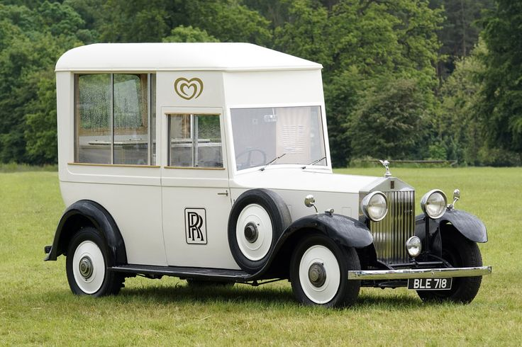 Rolls Royce Ice Cream Van.