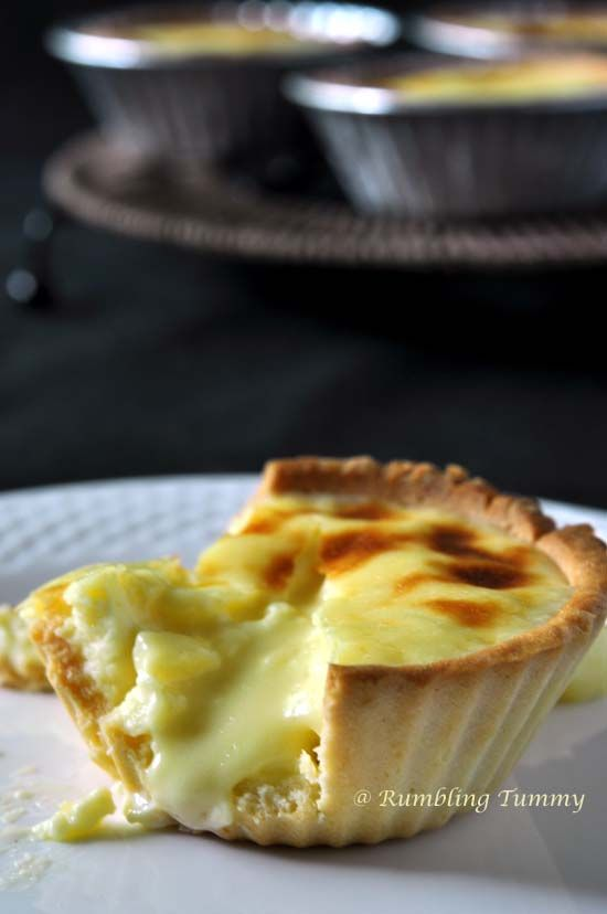 Rumbling Tummy: Lava Cheese Tart 流心芝士撻 (1) (Airfryer)