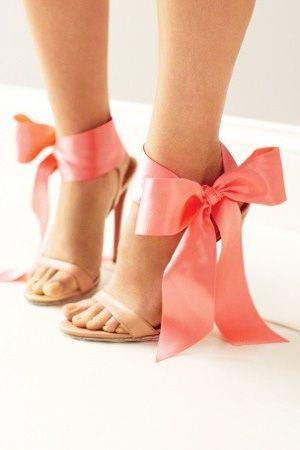 Coral Heels ~ Brides of Adelaide Magazine - Coral Wedding.