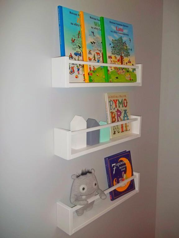 Drewniana Polka Na Ksiazki Styl Skandynawski 80 Cm Decor Kids Room Floating Shelves