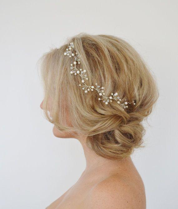 Art-Deco-Braut+Haar-Rebe+Hochzeit+von+RoslynHarrisDesigns+auf+Etsy