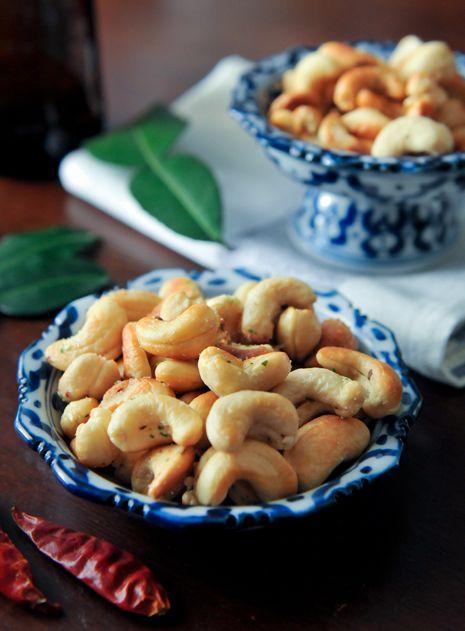 Thai Spiced Cashews              Cacahuates de la india