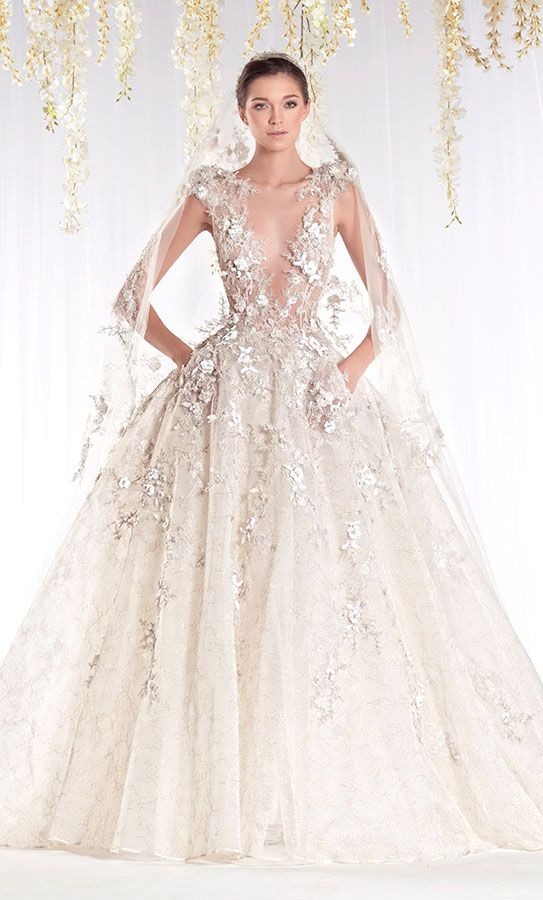 Ziad Nakad Bridal couture wedding dress