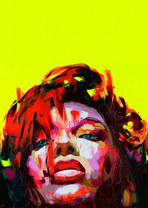 Francoise Nielly  One of my favorite artists.
