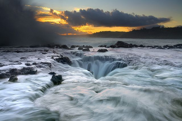 Maelstrom at Kauai, Hawaii - so cool!