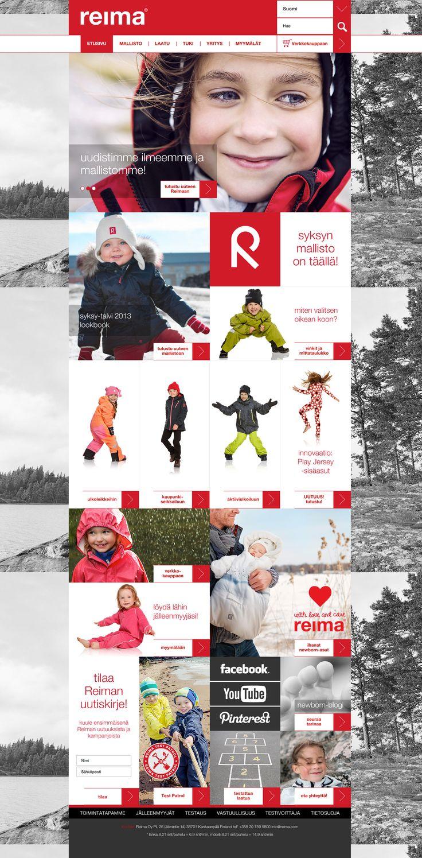 REIMA B2C | Reiman verkkopalvelu-uudistuksessa modernisoimme Reiman digitaalisen brändikokemuksen.  #SamiTossavainen #Mainostoimisto #Markkinointitoimisto #B2B #Mainos #Digitaalinenmarkkinointi #Verkkopalvelu