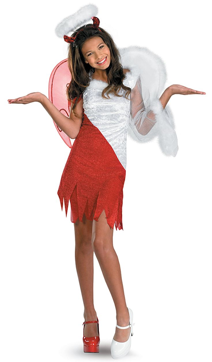 24 best coatumes images on pinterest costume ideas girl heavenly devil pre teen costume love this costume sciox Choice Image