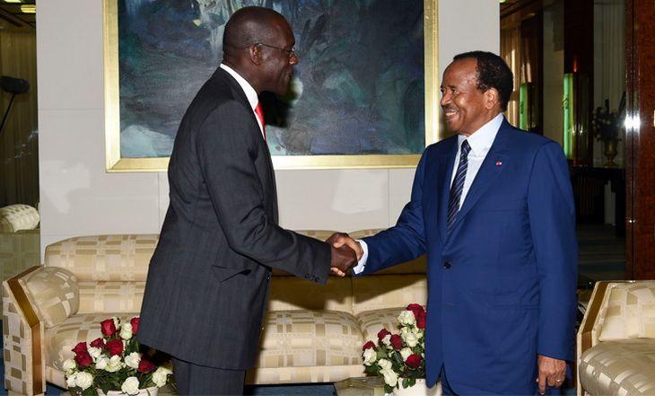 Cameroun: Paul Biya reçoit Makhtar Diop de la Banque mondiale - 24/07/2014 - http://www.camerpost.com/cameroun-paul-biya-recoit-makhtar-diop-de-la-banque-mondiale-24072014/