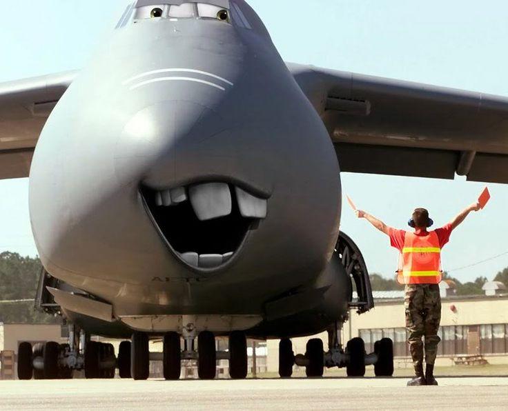 Веселые картинки самолетов
