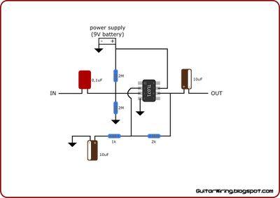 Acoustic Guitar Preamp Circuit Diagram - Somurich com