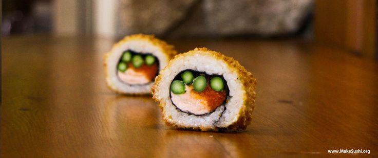 Deep fried sushi roll recipe