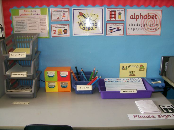Infants : Reception : Our Classroom