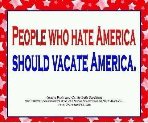 Image result for hater of america