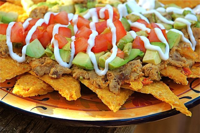 Nachos! Making these today... maybe my  new fav website for recipes!