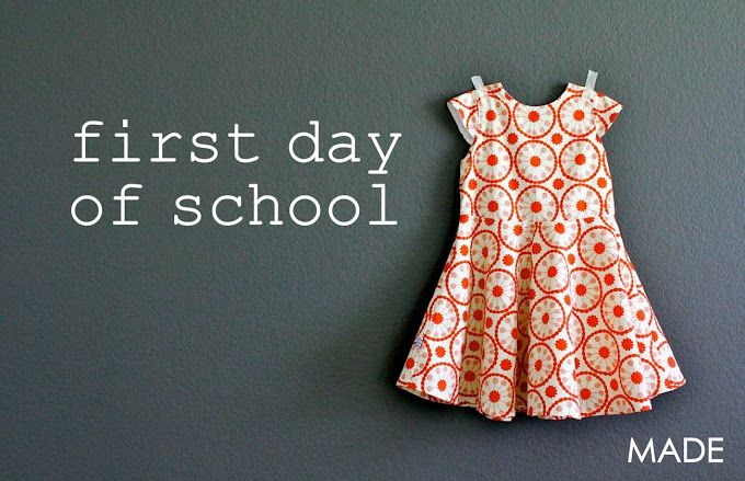 First-Day Dress