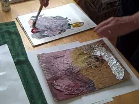 Printing A Collagraph Plate